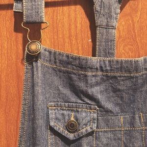 Other - Denim Overall Dress